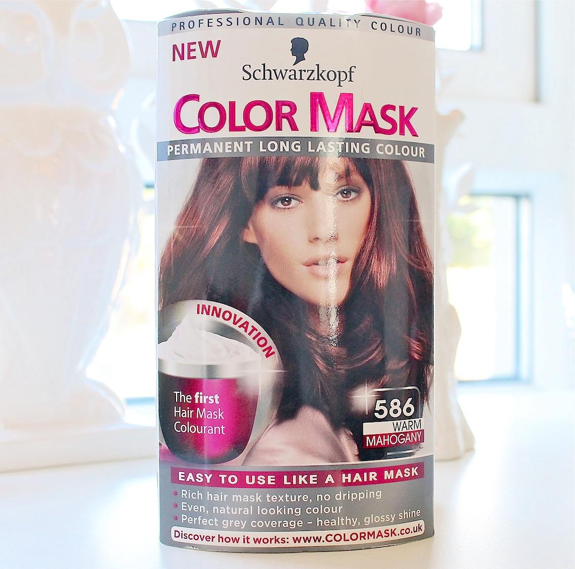 Schwarzkopf Color Mask in Warm Mahogany 586