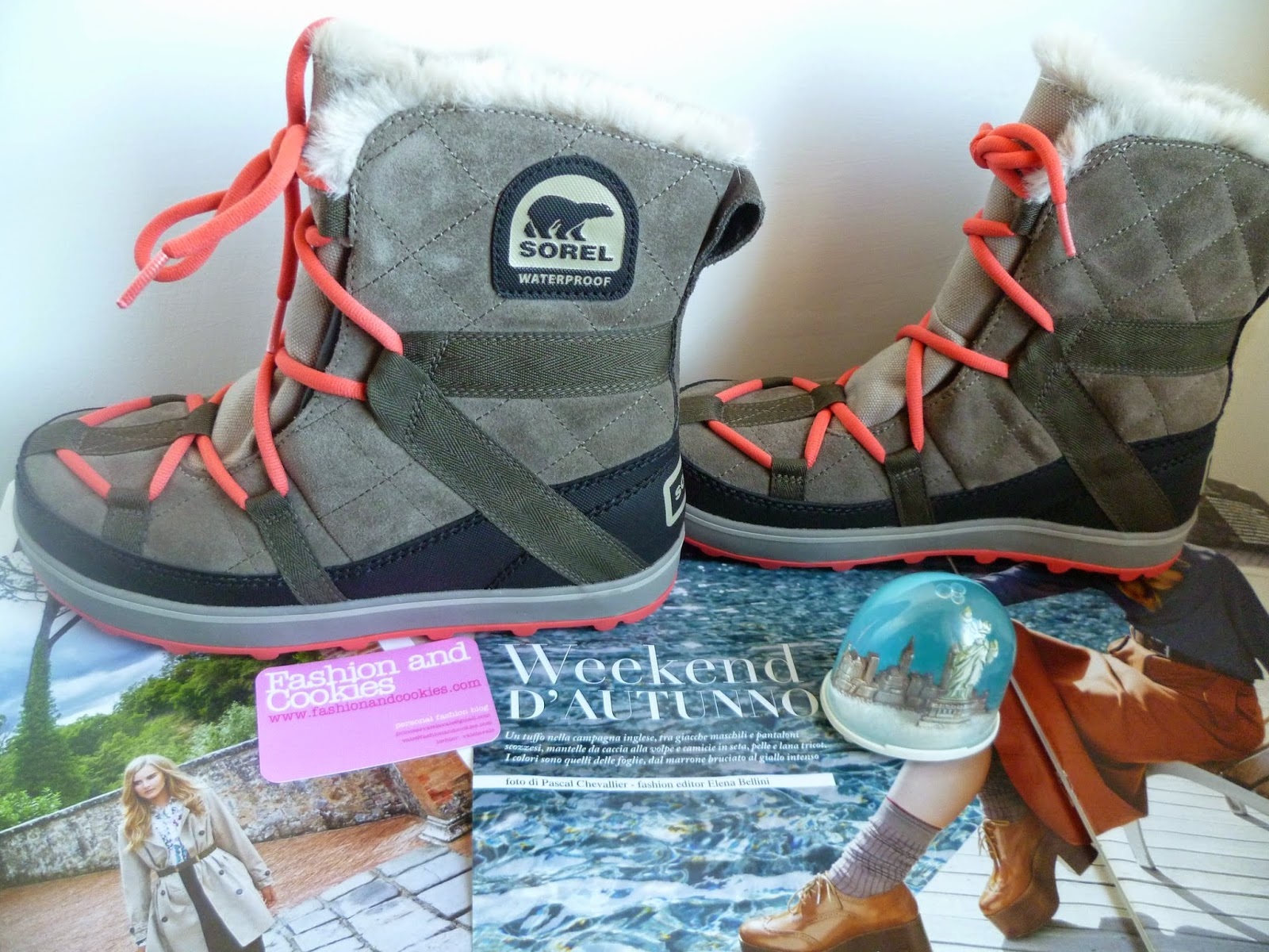 Sorel Glacy Explorer for women boots, Fashion and Cookies, fashion blogger