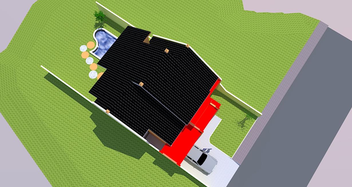 bursa arsitektur disain rumah tempat tinggal type ps 08