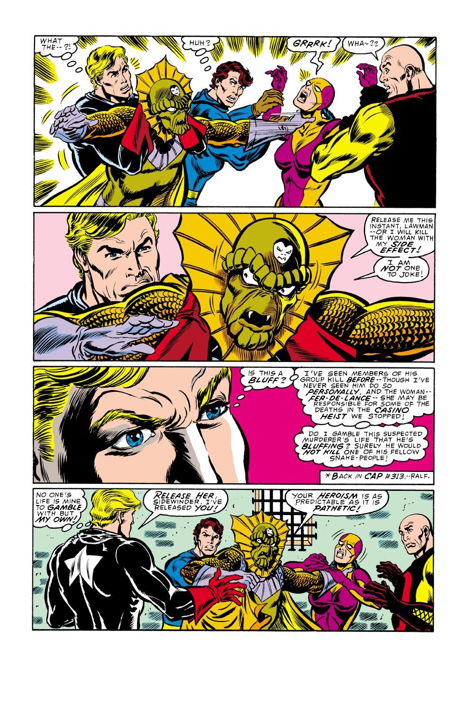 Captain America (1968) Issue #338 #267 - English 20