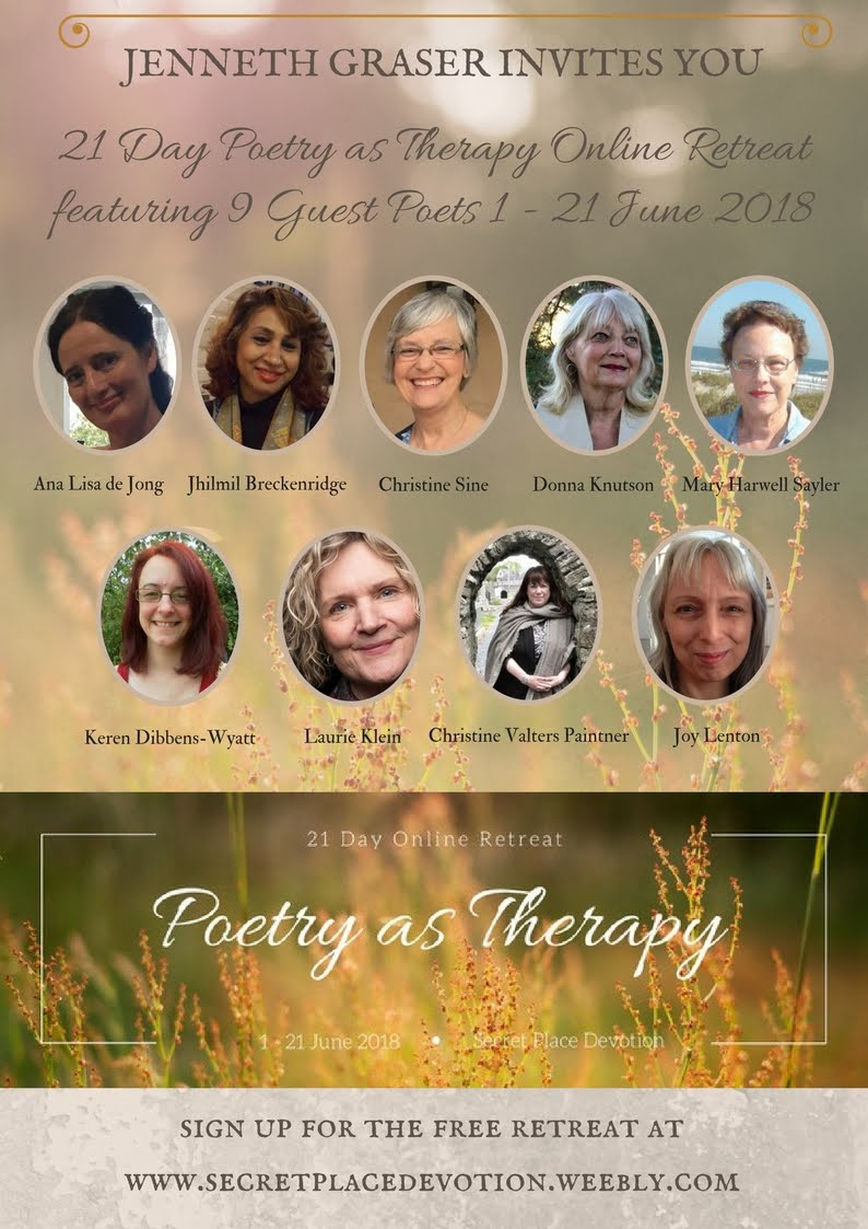 Come Join the Poetry as Therapy Online Retreat!
