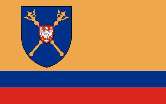 Flaga powiatu pajęczańskiego