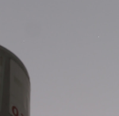 Venus and Jupiter conjunction still in daylight