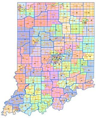 Ogden On Politics Political Baseline Numbers For New Marion - Indiana political map
