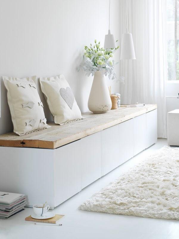 Un mueble de tv con mucho encanto deco living - Muebles con encanto ...