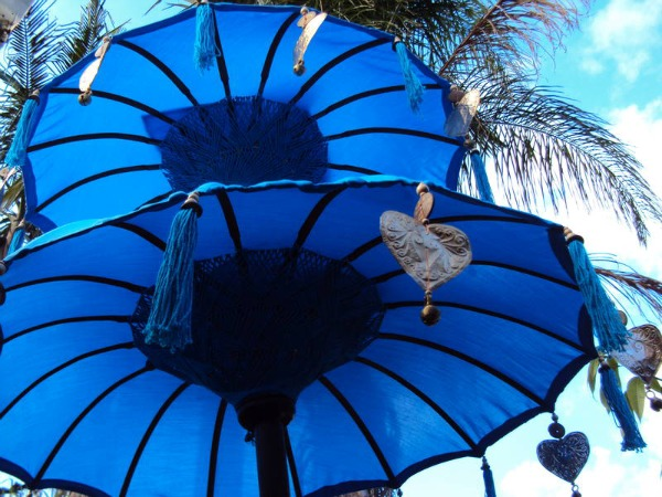 Sombrilla balinesa