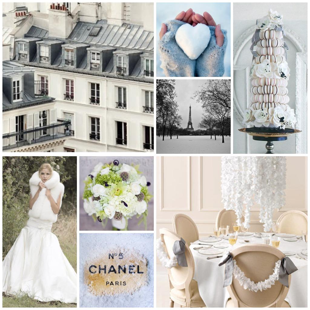 LE STYLE: A Parisian chic winter wedding