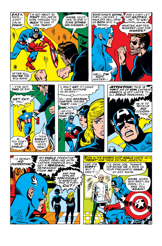 Captain America (1968) Issue #149 #63 - English 6
