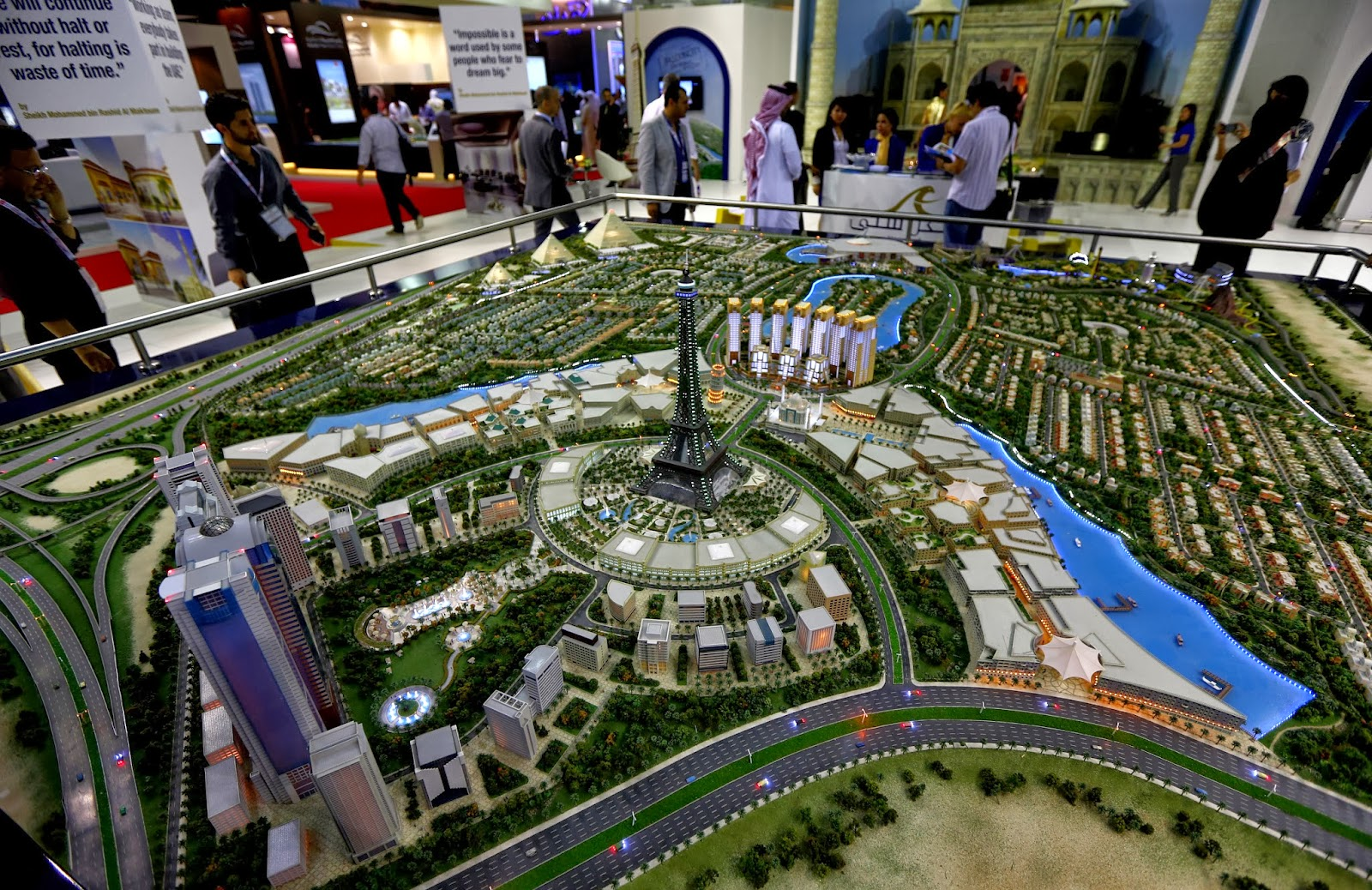 Annual, Architecture, Business, Cityscape Global, Crises, Dubai, Economy, Emaar  properties, Emirates, Exhibition, Falcon City of Wonders, Gulf, History, India, Model, Property, Show, Taj Mahal, UAE,