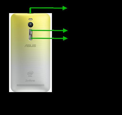 Как сделать скриншот на смартфоне asus zenfone 2
