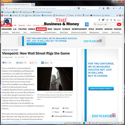 Screen shot of http://business.time.com/2012/10/22/viewpoint-how-wall-street-rigs-the-game/.