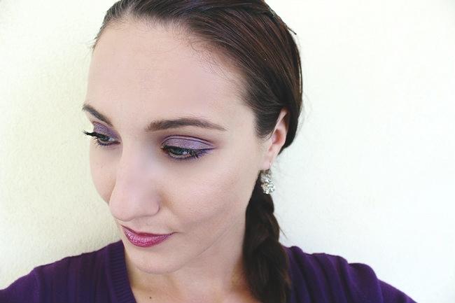 Everyday PURPLE makeup ft. 3 RIMMEL products (video makeup tutorial).Rimmel makeup tutorial.Drugstore makeup tutorial.Ljubicasta sminka za dan, tutorijal.Rimmel sminka.