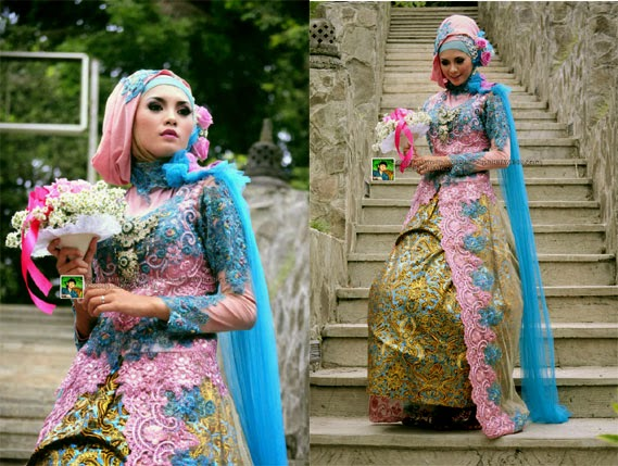 Tata Rias HIJAB MODERN - Make Up & Busana oleh DHITA Sanggar Rias Pengantin Purwokerto | Foto oleh : Klikmg Fotografi
