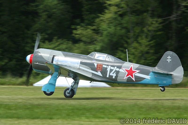 Yakovlev Yak3 avions anciens vintage WWII meeting aérien La ferté-Alais Essonne