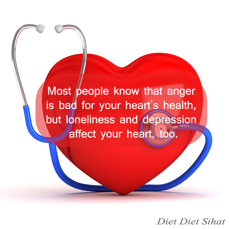 Emosi Penyebab Sakit Jantung ?