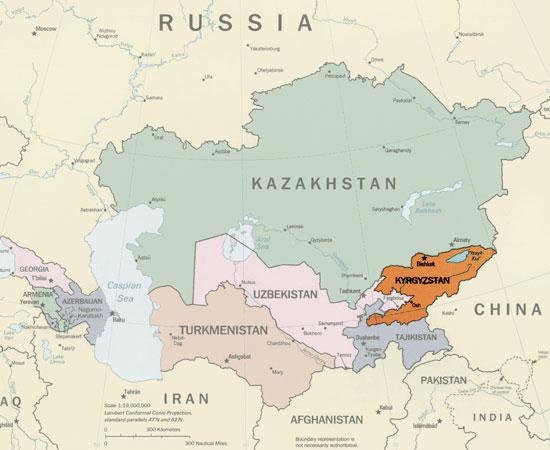 Muslim Kirgistan, Diantara Himpitan Konflik dan Sekularisme