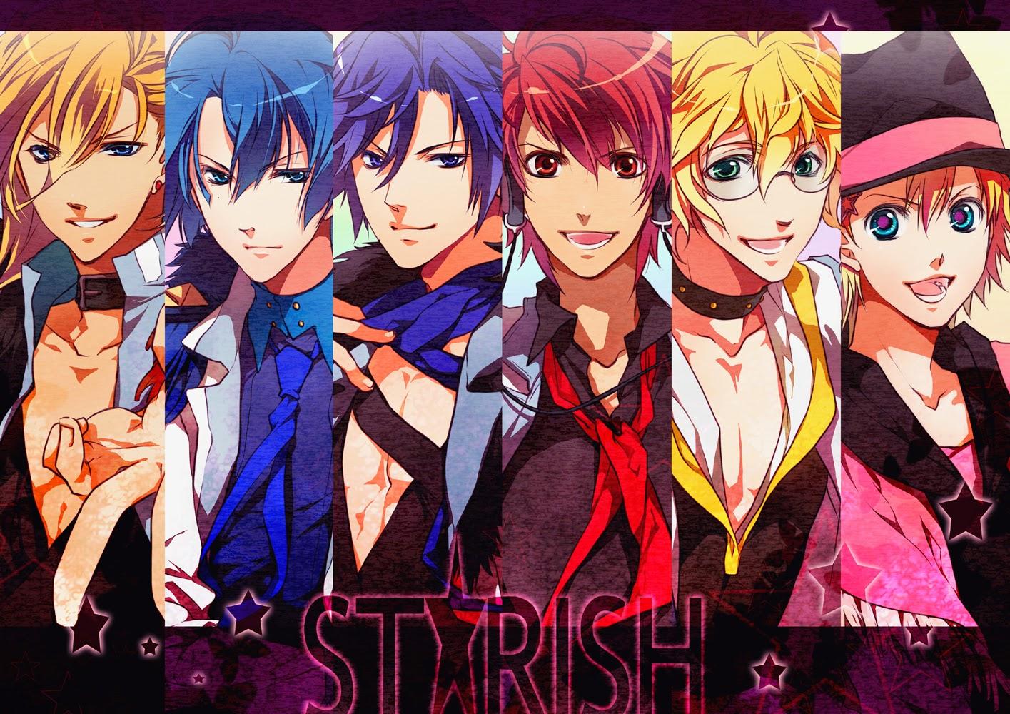 1 2 Prince Anime Characters : Anime kamp personajes uta no prince sama temp
