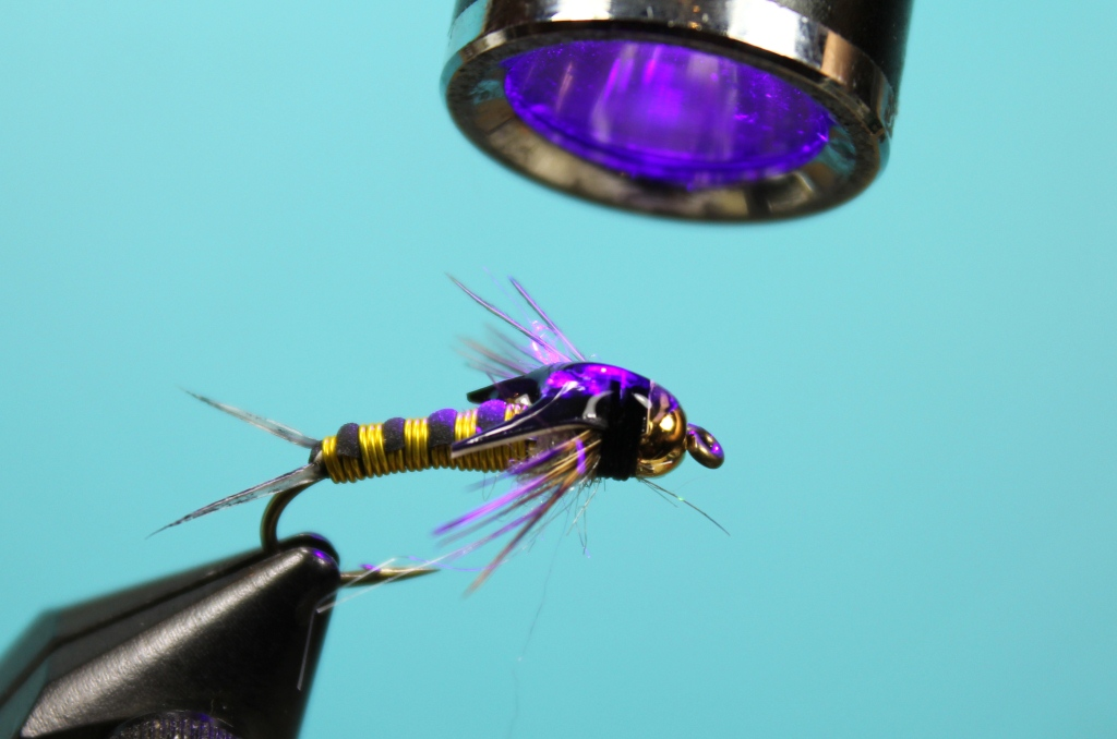 Uv cure epoxy fly tying materials