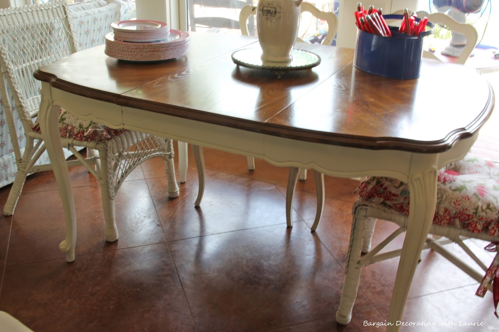 Marvelous Painted Table Legs Bargain Decorating With Laurie