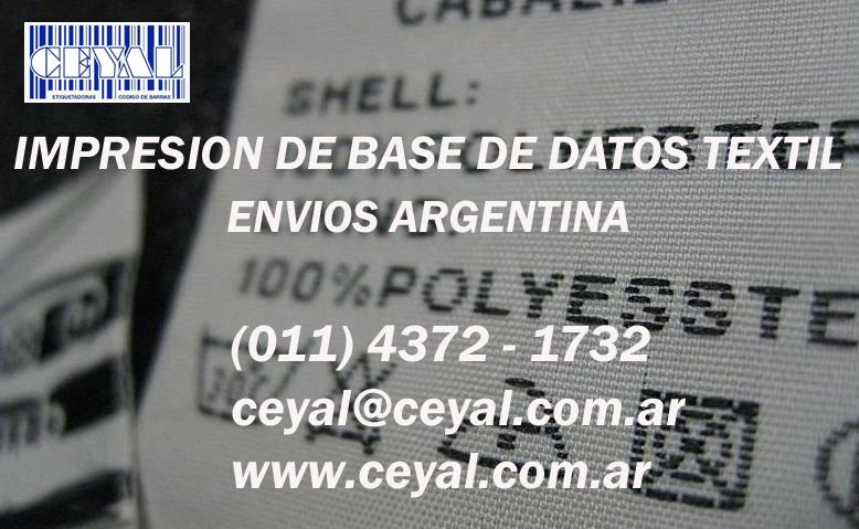 etiquetas colores en planchas Buenos Aires Argentina