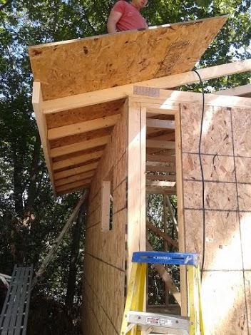 Outdoor sauna build how i built my wood fired sauna for How to build a backyard sauna