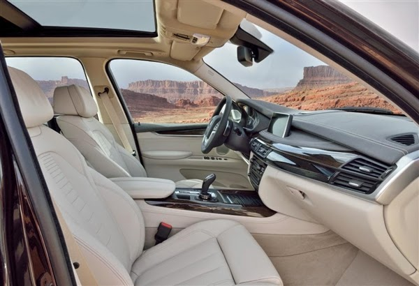 BMW X5 Diesel Interior Wallpaper
