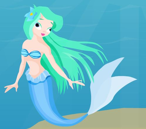 AjazGames Mermaid Escape …