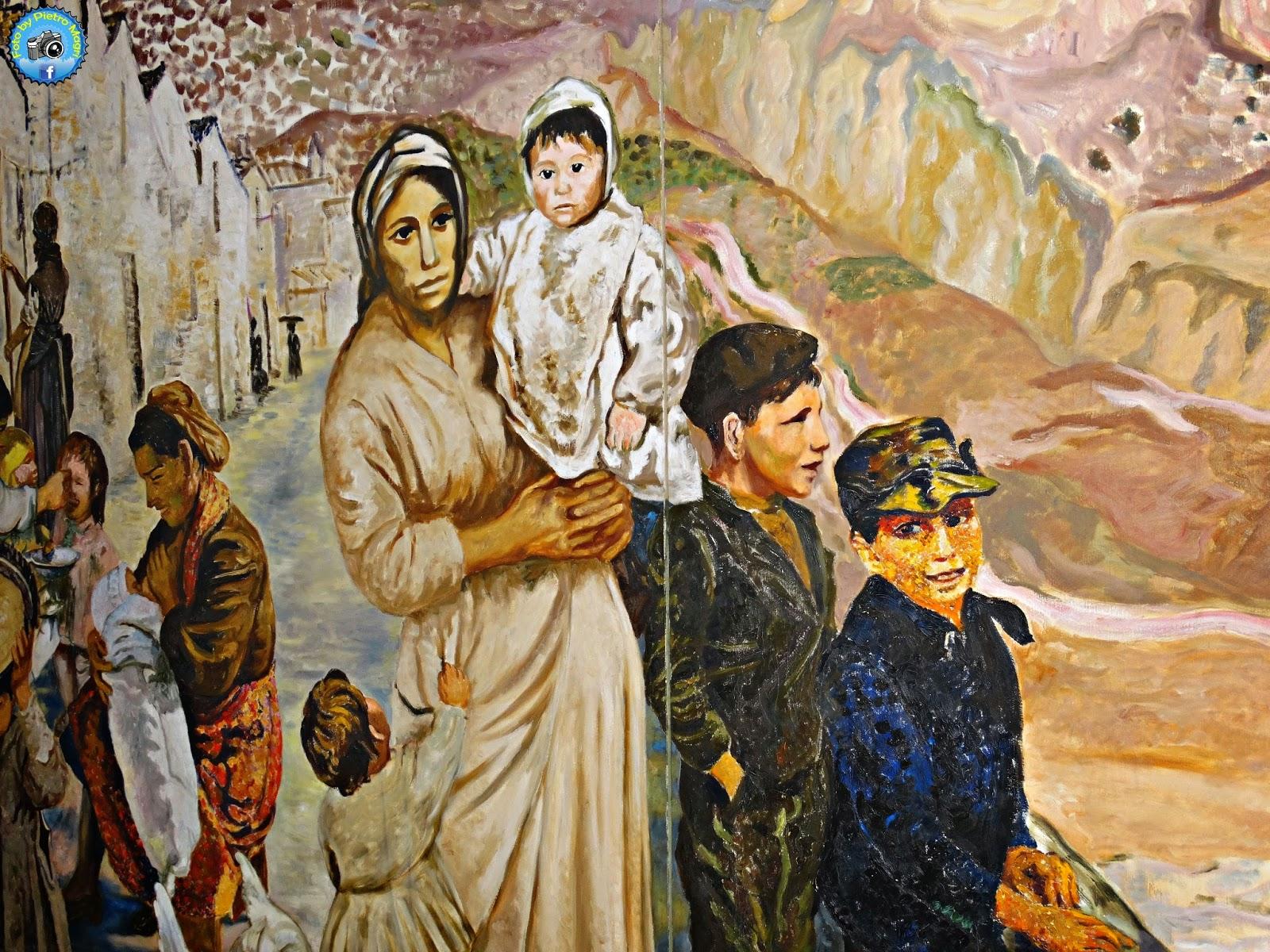 Italia in photo matera stralcio del dipinto lucania 61 for Magri arreda matera