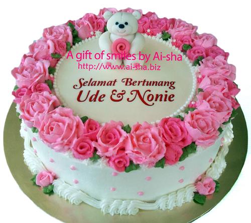 Engagement Cake Pooh Ai-sha Puchong Jaya
