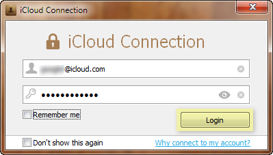 login icloud account to load notes on computer