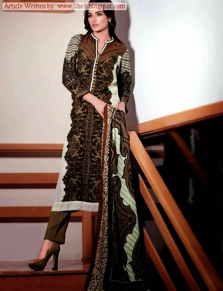 Gul Ahmed Pali Winter / Fall Collection 2014