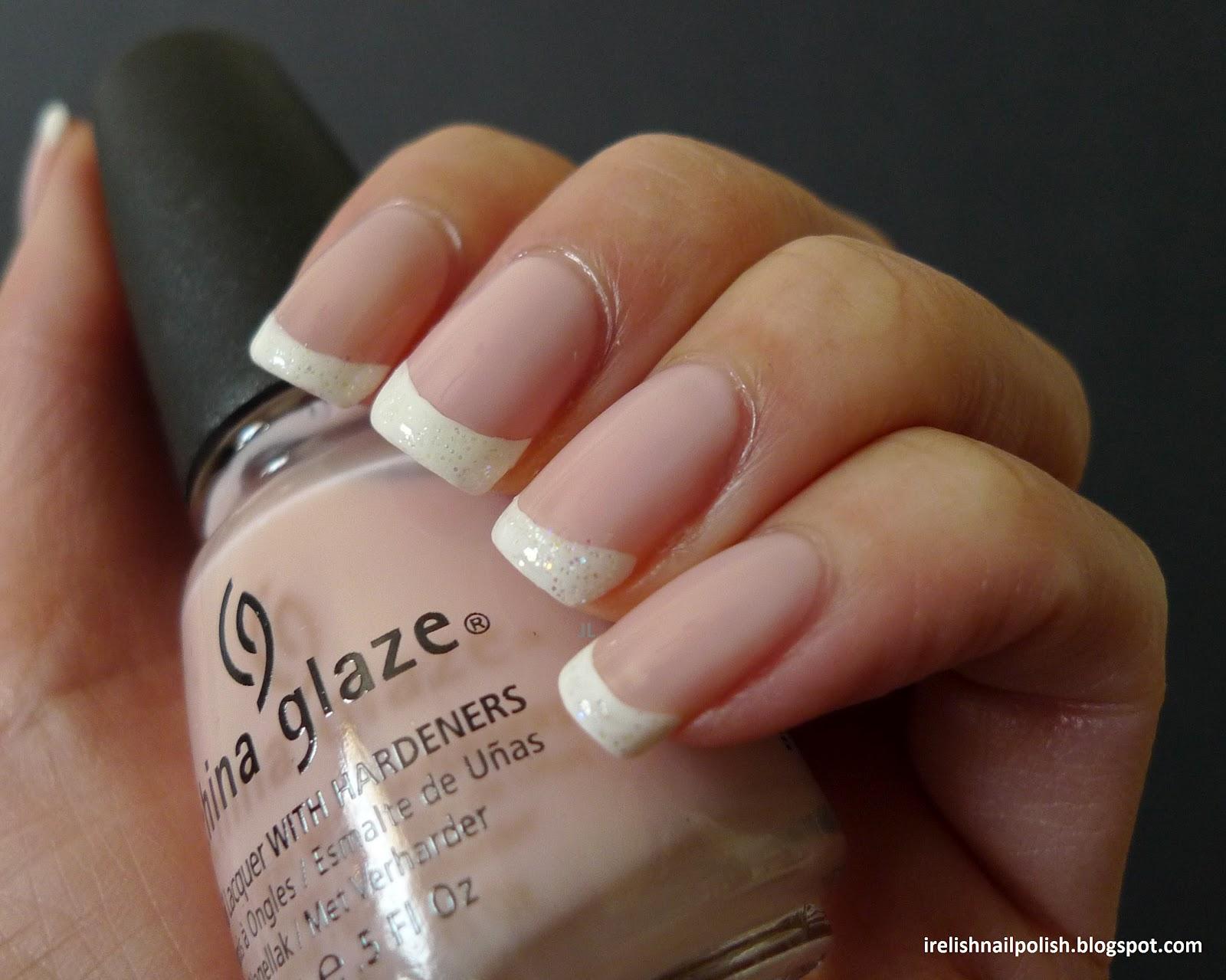 I Relish Nail Polish!: China Glaze Innocence - French