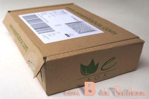 Caja cosmética natural