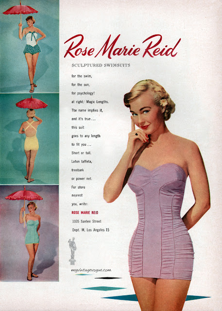 Rose Marie Reid- Sculptured Swimsuits