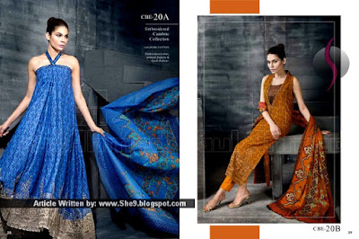 Gul Ahmed Midsummer Collection 2015 Magazine