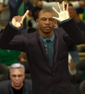 NBA 2K13 Coach Doc Rivers Cyber Face Update