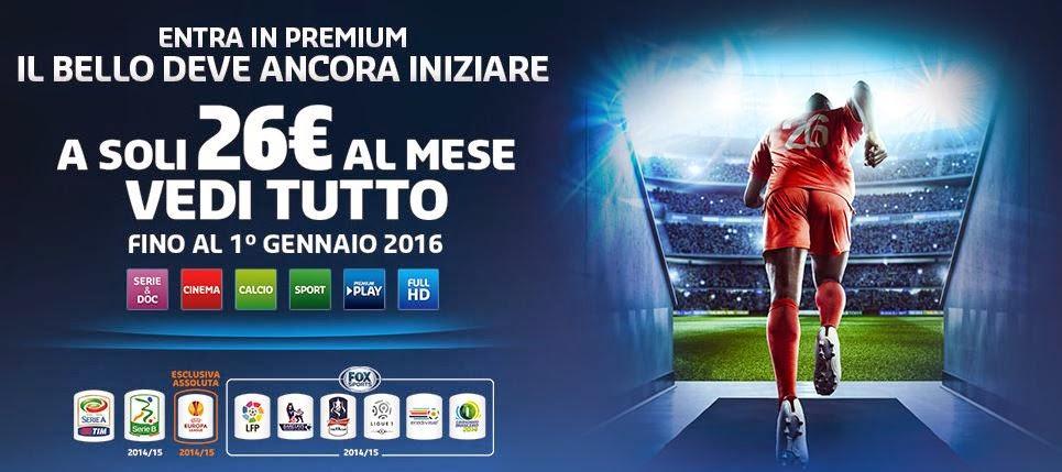 Canzone pubblicità Mediaset Premium 2015