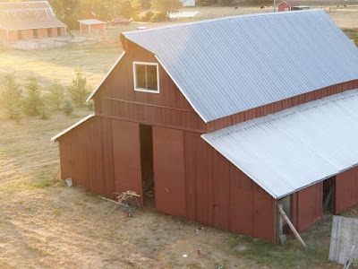 Painting the Barn, shared by The Accidental Farmers