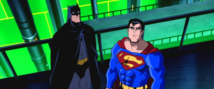 Superman batman public ennemies sur france 4 comic screen l 39 actualit des super h ros au - Superman et batman dessin anime ...
