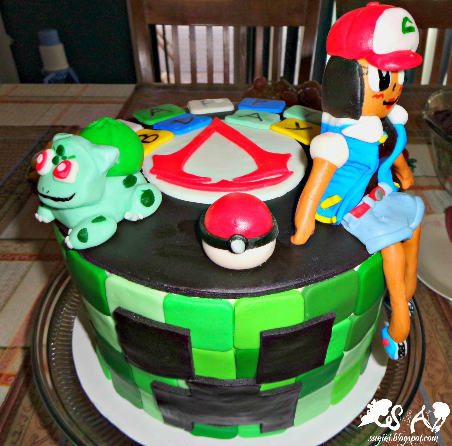 SugiAi Happy St Patricks Day And A Video Game Birthday Cake - Cake birthday games