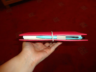 Domino Filofax with Cross Pen