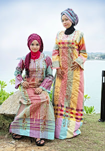 jubah egypt - colourfull