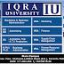 IQRA University Admission Open 2016 Karachi Online