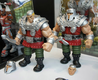Mattel Matty Collector 2013 Toy Fair Display - Masters of the Universe MOTU Classics Ram-Man figure