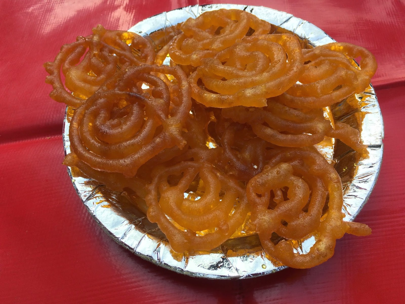 Jalebi at Bareilly