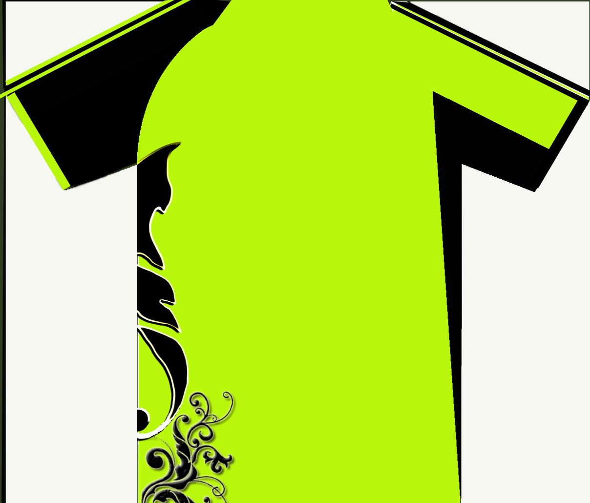 Design t shirt rumah sukan - Pandangan Belakang Rumah Sukan