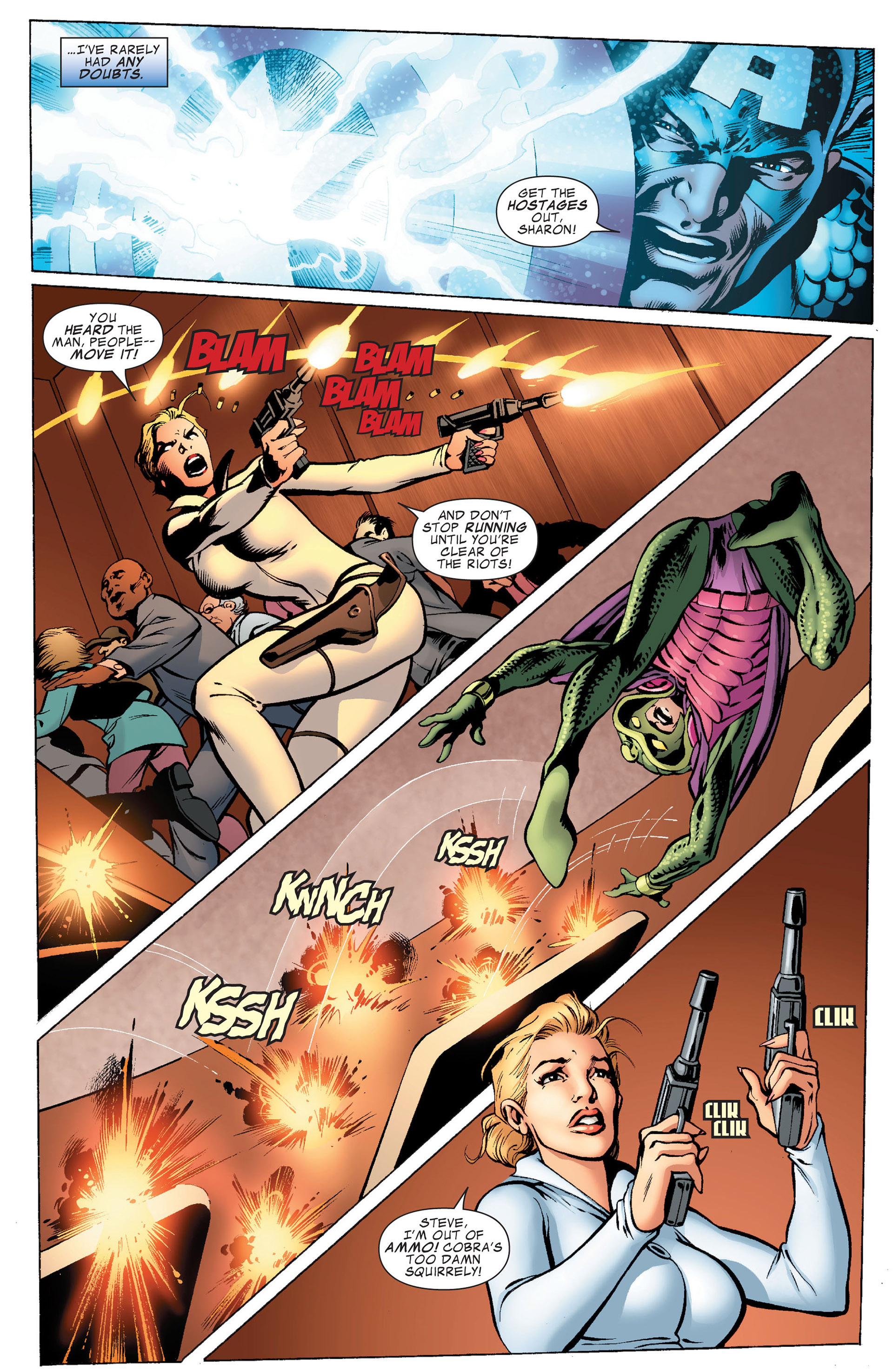 Captain America (2011) Issue #8 #8 - English 4