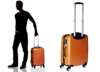 Amazon : Buy Airmate Polycarbonate (55 cms) Orange Hard sided Suitcase,  worth Rs.4,599 only at Rs.2,529 only – Buytoearn