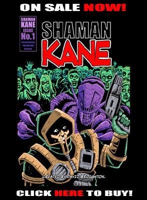 Shaman Kane Comic