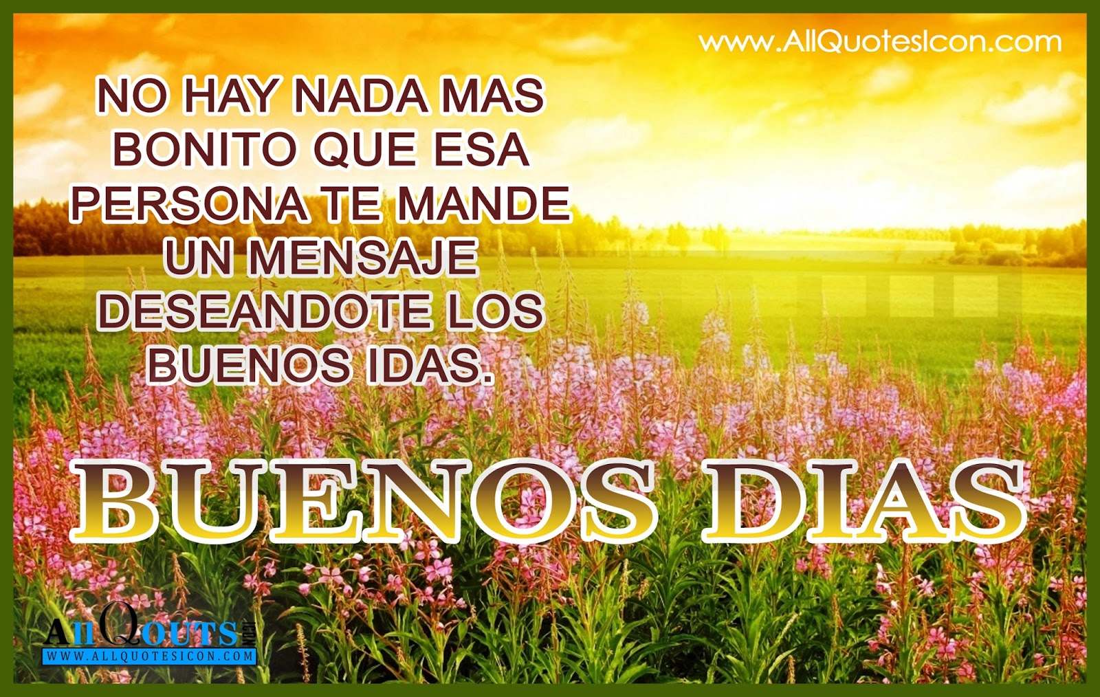 Good Morning In Spanish Is What : Good morning quotes in spanish allquotesicon